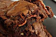 Chocolate Pork Pastries - These Bacon Brownies by Bacon Today are a Medley of Sweet & Savory