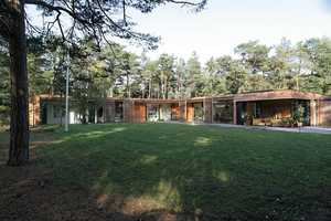 The Johan Sundberg Bergman Werntoft House is One with Nature