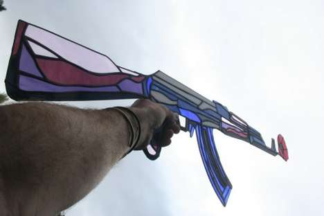 Stained Glass Rifles - Shanti1971's The End of Revolution is a Rather Intricate AK-47