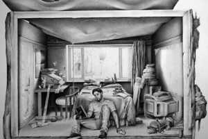 Artist Robert McNally Draws Realism with Basic Supplies