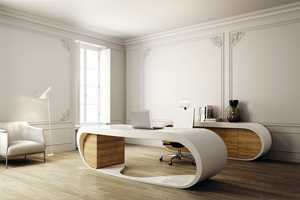 The Goggle Desk by Danny Venlet is a Sleek Contemporary Wonder
