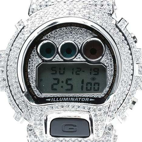 Amp Japan Silver Case G-Shock Watches