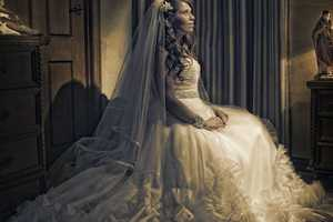 These Rocco Ancora Photos Show the Dark Side of Couple's Big Day