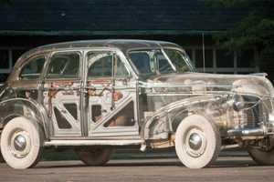 The '39 Ghost Pontiac Displays the Bare Bones of Mechanics