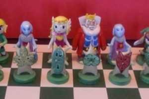 The Legend of Zelda Chess Set by Ben Howard Brings Life to the Board