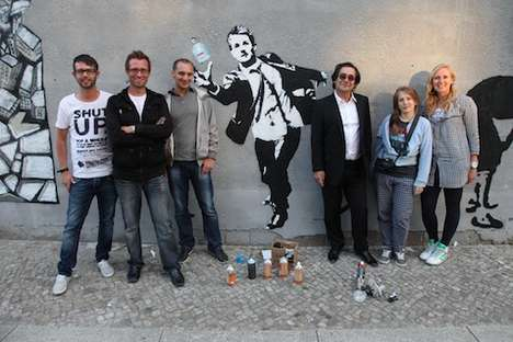 Graffiti Stencil Contests (UPDATE) - The Blek le Rat HUGO Man Competition Winners Revealed