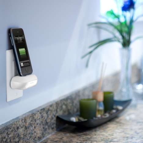 Wall-Mounted iDevice Docks - The Philips Walldock is Delightfully Low-Tech