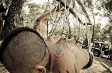 From Suspension Sightseeing to Flesh Hooking Rituals