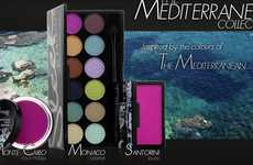 Aegean Cosmetics - The Sleek Mediterranean Collection Channels the Hues of Exotic, Ancient Isles