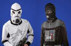 Transformative Sci-Fi Apparel - Morph Into Darth Vader with the Star Wars Costume Hoodies