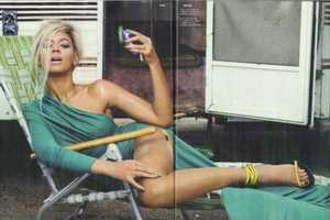 The Beyonce Dazed and Confused Editorial is Literally On Fire