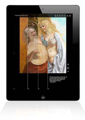 Handheld Museum Tours - Get Virtually Cultured In a Snap with the Gagosian Gallery iPad App