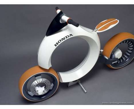 innovative Honda two wheelers