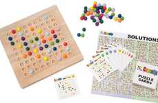 Color-Coded Number Games - The Colorku Board Game Brings Dimension to Sudoku
