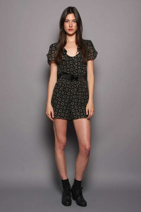Bohemian Rompers - The Anna Sui Resort 2012 Collection Features Fun Printed Casualwear