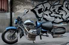 Mangled Motorbike Marketing - The Bikeking24 Twisted Motorcycles Campaign is Unrideable
