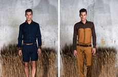 The Dimitris Petrou Spring/Summer 2011 Collection Mixes Motley Textures