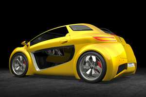 The Very Fun Vehicle is an Attractive Eco-Car that is Full of Personality