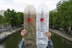 Take Over Paris With the Neckface for Public Domaine Skateboards