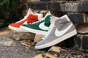 The Nike Vintage Blazer Shoe Boasts the Brand's Signature Comfort & Style