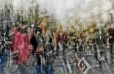 Stratum Parisian Photos - Edouardo Mortec's 'Foules' Uses Multiple Exposure Techni