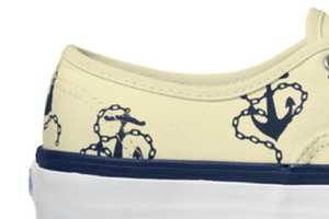 The Vans California Vintage Anchors Shoe Makes a Stylish Splash this Season