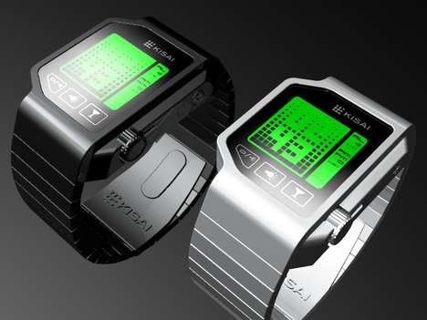 Sobriety-Measuring Timepieces - Breathalyzer Watch Tells You How Hammered You Are