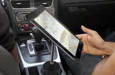 Adjustable Tablet Holders - The Stance iPad 2 Stand is Convenient for Cars and Treadmills