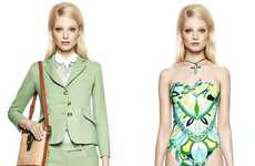 Color-Consuming Fashion - The Emilio Pucci Resort 2012 Collection is Vibrantly Tailored