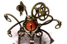 Steampunk Bug Bots