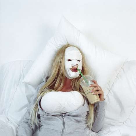 Incisive Plastic Surgery Photography - Zen Moments Series by Nienke Klunder Shows Sad Emotions