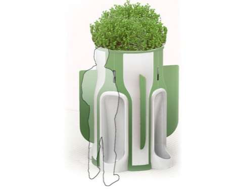 Plant-Feeding Urinals - 'When Nature Calls' Lets You Grow Greenery With Your Urine
