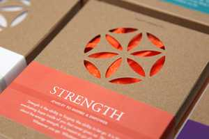 The Eight Energies Packaging by Estudio Rumba is Simple Yet Empowering
