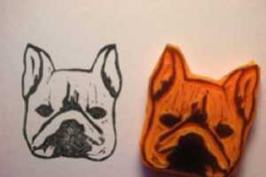 These Kozue Etsy Shop Rubber Dog Stamps are Bow-Wow Wonderful