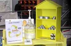 Portland's Yellow Shelf Project Has Products for Your Empty Containers