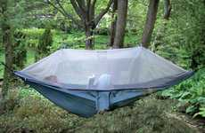 Comfy Canopy-Covered Camping