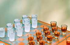 'Shot Glass Checkers Set' Requires You to Think Carefully or Get Hammered
