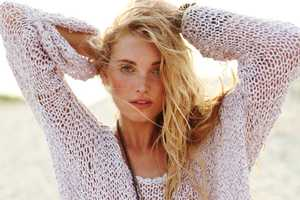 Elsa Hosk Gets Cozy Beachside for the Free People 'Ode to Summer' Lookbook
