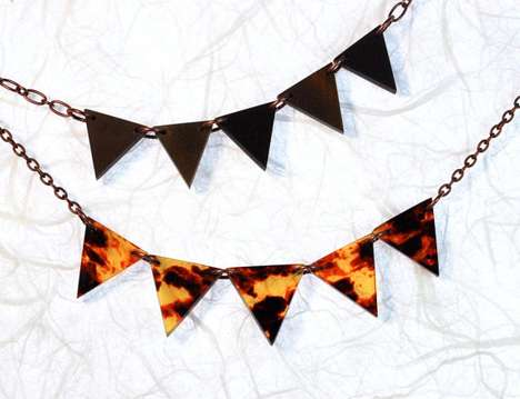 Carnival Pennant Necklace