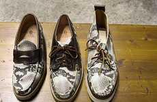 Reptilian Designer Footwear