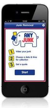 AnyJunk iPhone Application