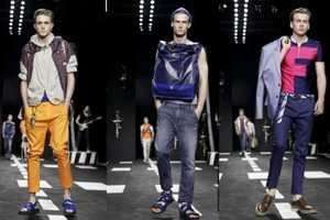 Frankie Morello's SS 2012 Men's Collection Wheels Bike-Wear to the Run