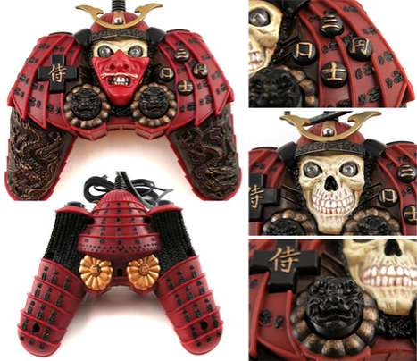 Adorned Samurai Controllers - The Warrior Monster PC Gaming Pad Looks Like an Undead Samurai