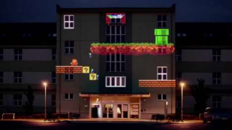 Retro Gaming Wall Art - 8 Bit Invader Literally Takes Pixelated Art to New Heights