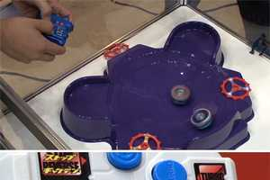 The Super Control Beyblades Gives Users Control Over Spin Speeds