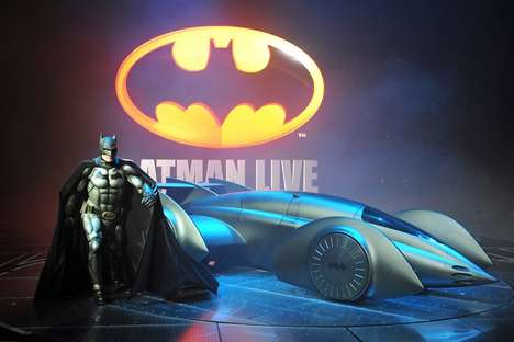 Batman Alive Batmobile