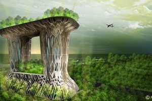 The Agung Sedayu Center Will Thrive Amidst a Sea of Mangroves