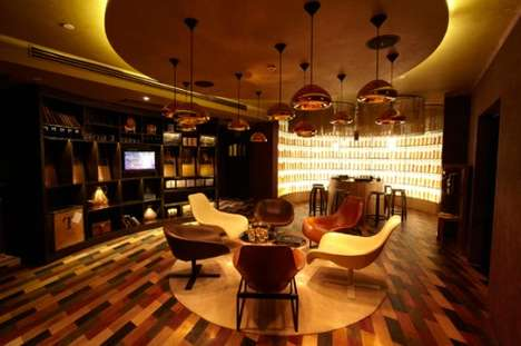 Oriental Whiskey Fortresses - The Johnnie Walker House & Limited-Edition Bottles in Shanghai China