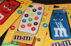 Chocolaty Smartphone Covers - The M&M iPhone Case Coats Your Touchscreen in Protection