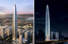 Needle-Like Architecture - The Wuhan Greenland Center is the Fourth Tallest Building in the World